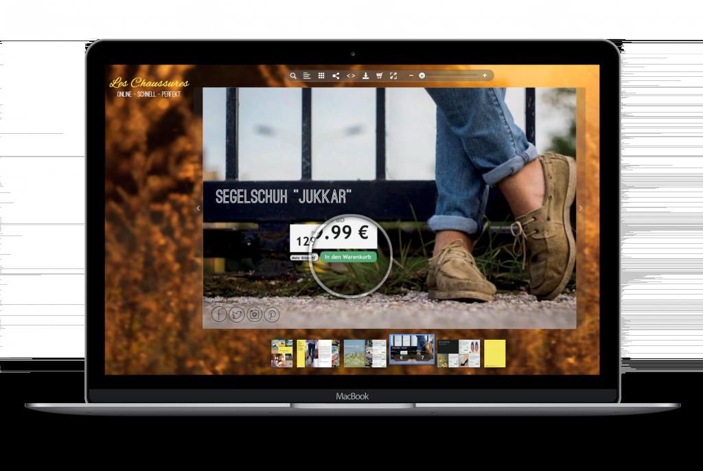 Fügen Sie Ihrem ePaper einen Link zu Ihrem Webshop hinzu und generieren Sie direkt aus dem ePaper heraus Umsätze.