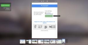 ePaper mit Kontaktformular