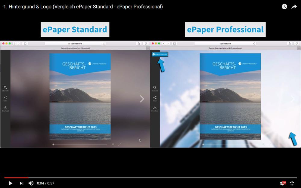 Der große ePaper Vergleich: ePaper Standard - ePaper Professional