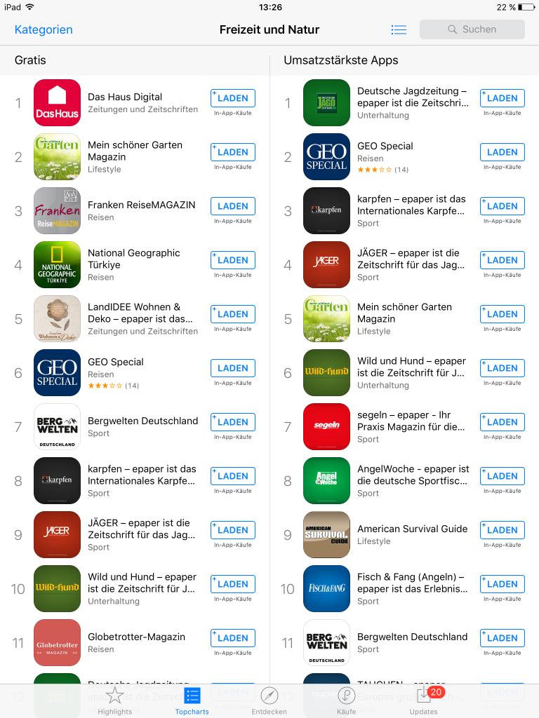 App-Marketing: Weisen Sie Ihren Kunden und Lesern den Weg zu Ihrer ePaper-App.