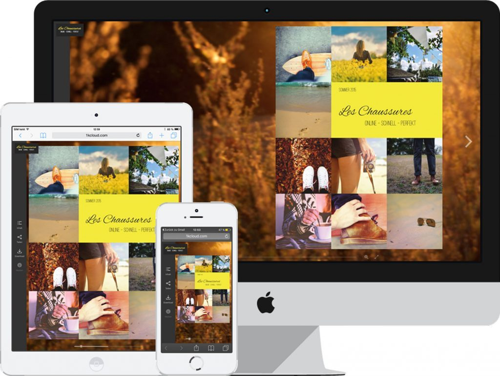 Dank der neuen Player Version 4 (HTML5) wird Ihr ePaper auf den verschiedenen Endgeräten Ihrer Leser und Kunden jeweils optimal dargestellt.