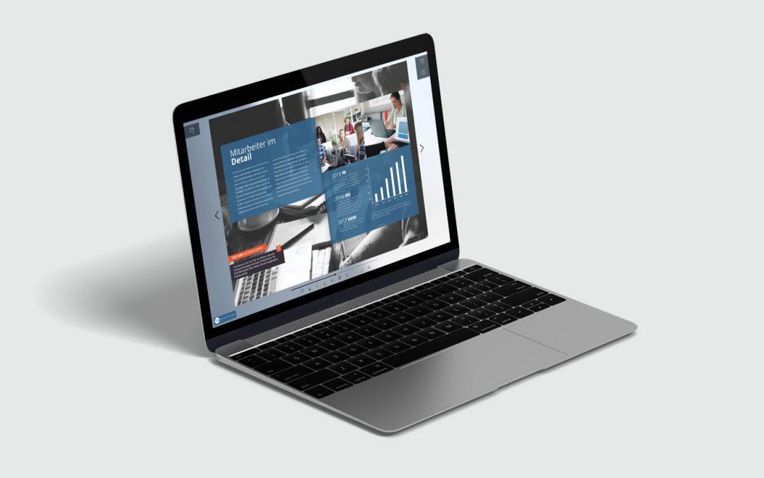 Informieren und involvieren mit Ihrem digitalen Mitarbeitermagazin als 1000°ePaper