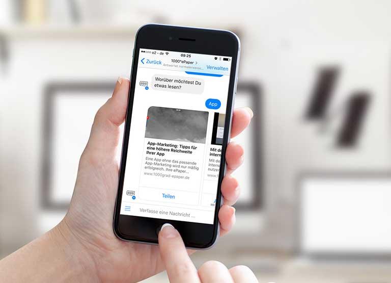 Newsbots – Direkte und persönliche Kundenkommunikation