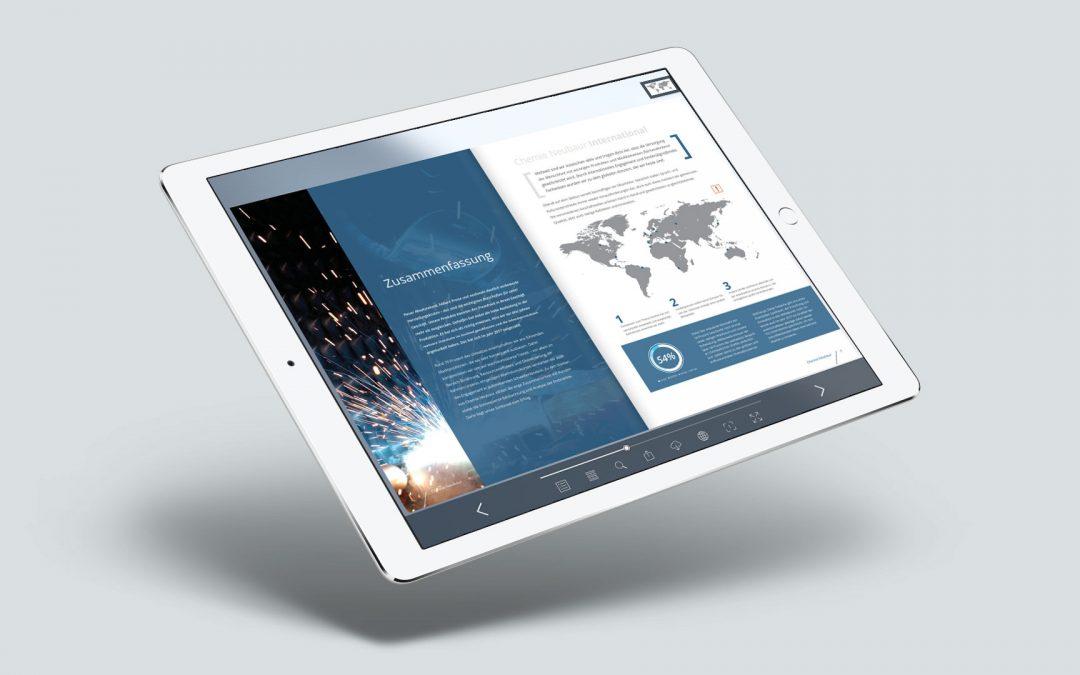 Ihr digitaler Geschäftsbericht als 1000°ePaper wird Stake-und Shareholder begeistern