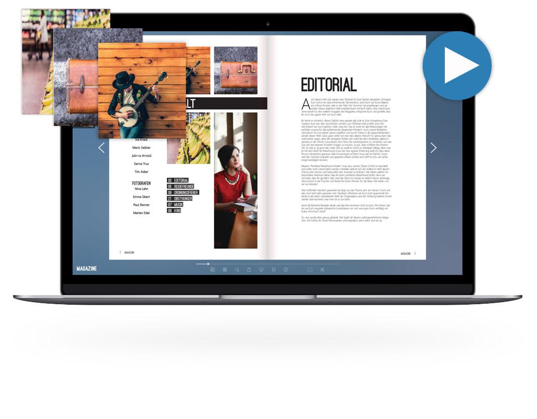 ePaper Features