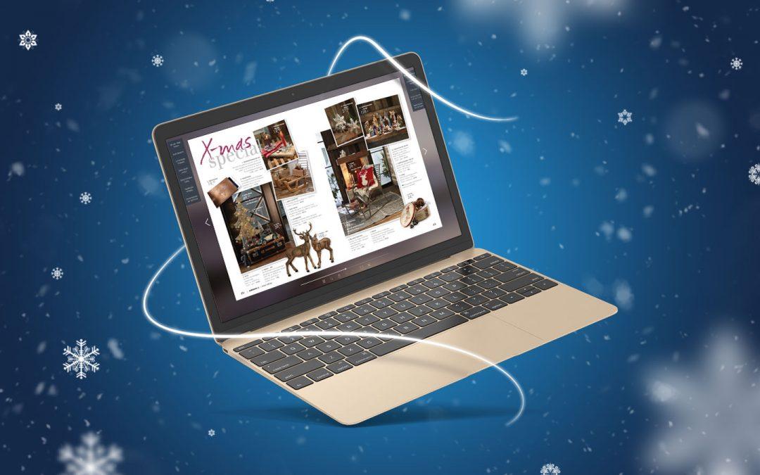Verzaubern Sie Ihre Kunden mit einem digitalen Weihnachtskatalog