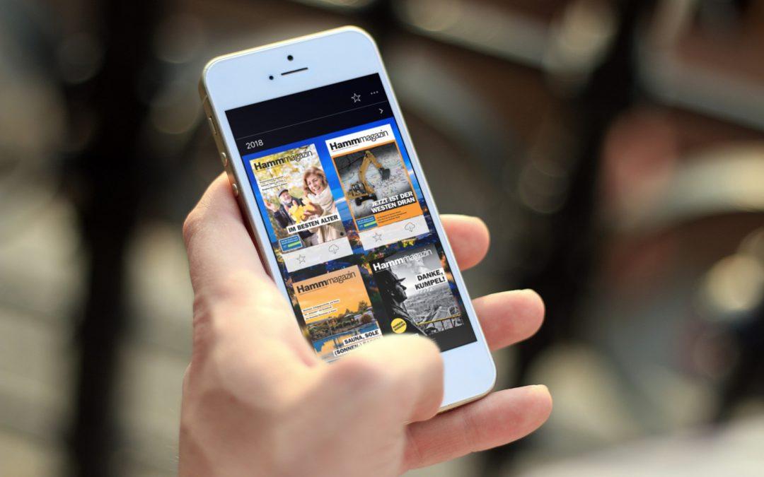 Digitales Stadtmarketing mit 1000°ePaper: Das Hamm-Magazin