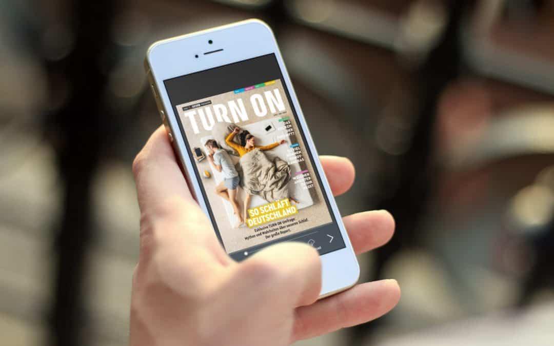 Corporate Publishing mit dem 1000°ePaper: Das digitale Kundenmagazin von SATURN