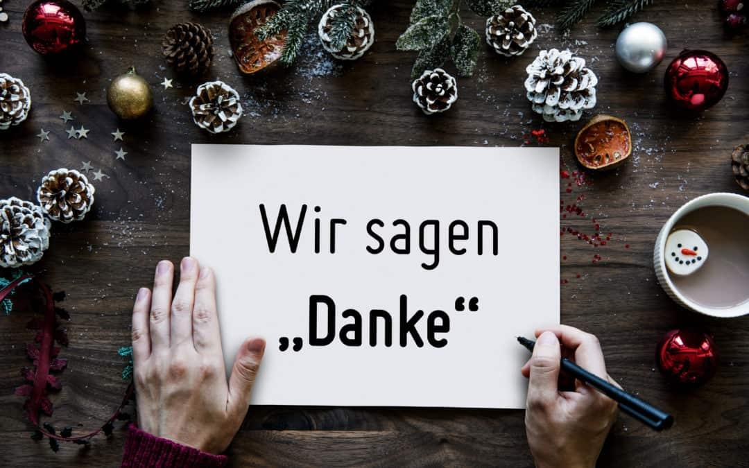 """Wir sagen """"Danke""""- Der 1000°ePaper Jahresrückblick 2020"""