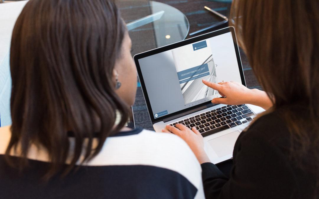 Beispiele für Jahresberichte – So könnte Ihr Online-Geschäftsbericht aussehen