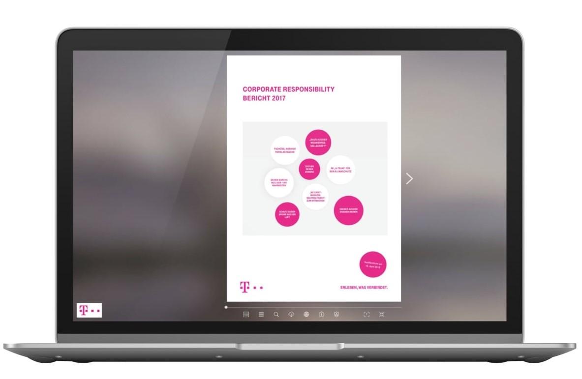 Geschäftsbericht Beispiele Telekom