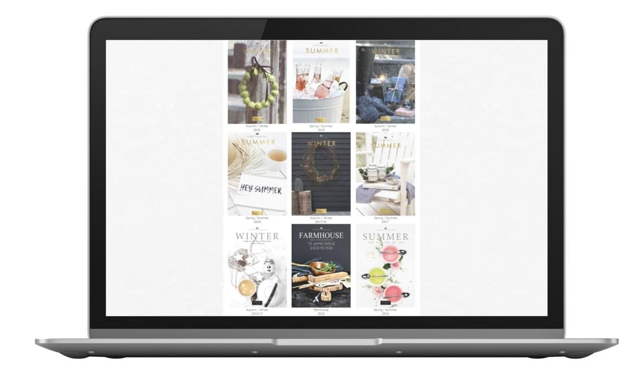 ePaper Kiosk Beispiel Tafelgut Kataloge